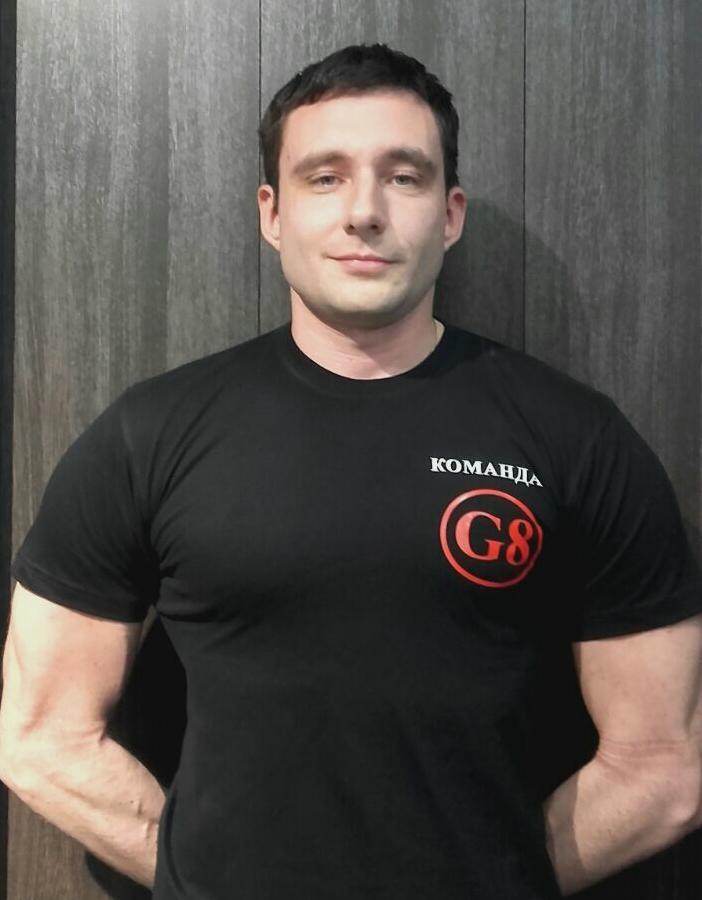 Команда G8: ДМИТРИЙ АРЕСТОВ
